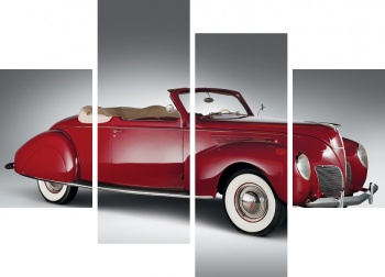 Модульное панно Lincoln Zephyr Convertible Coupe '1938,