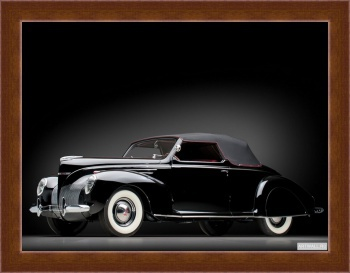Магнитная картина Lincoln Zephyr Convertible Coupe '1939,