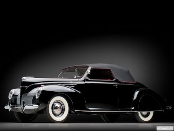 Lincoln, Lincoln Zephyr Convertible Coupe '1939