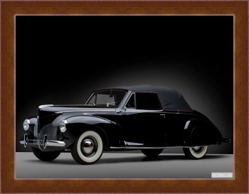 Магнитная картина Lincoln Zephyr Convertible Coupe '1940,