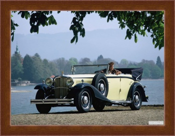 Магнитная картина Maybach Zeppelin DS8 4-door Cabriolet '1930-34,