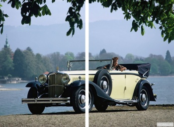 Модульное панно Maybach Zeppelin DS8 4-door Cabriolet '1930-34,