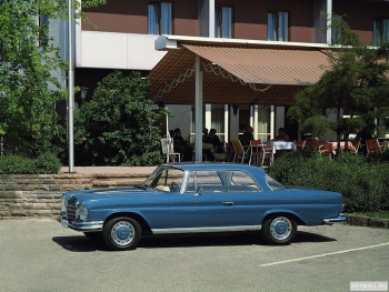 Mercedes-Benz 280SE 3.5 Coupe (W111 W112) 1969-71,
