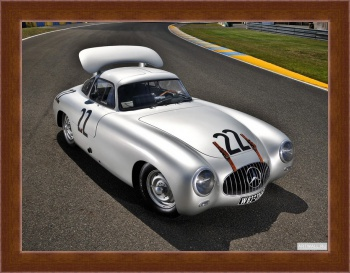 Магнитная картина Mercedes-Benz 300SL LeMans Prototype (W194) '1952,