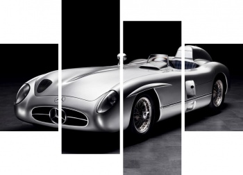 Модульное панно Mercedes-Benz 300SL Roadster US spec (R198) '1957-63,