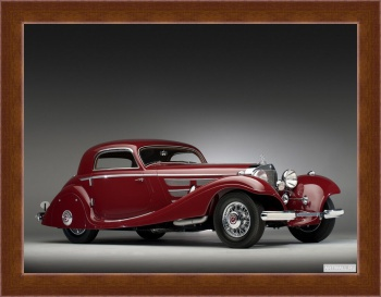 Магнитная картина Mercedes-Benz 540K Special Coupe '1937-38,