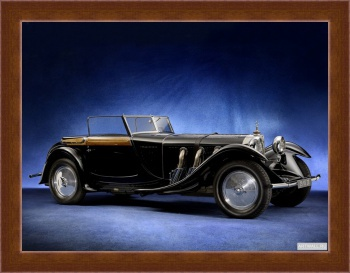 Магнитная картина Mercedes-Benz 680S Torpedo Roadster by Saoutchik '1928,