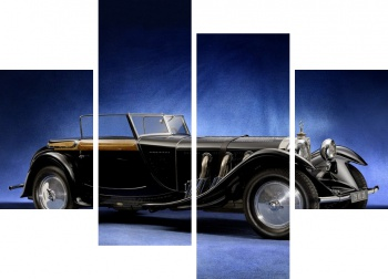 Модульное панно Mercedes-Benz 680S Torpedo Roadster by Saoutchik '1928,