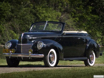 Mercury Convertible Club Coupe (99A) '1939,