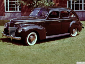Mercury Eight 4-door Sedan '1939,