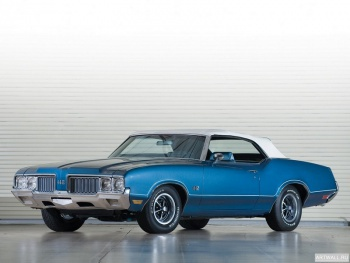 Oldsmobile 442 W-30 Convertible '1972,