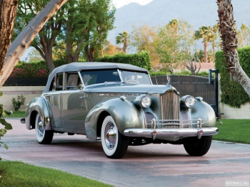 Packard 180 Super Eight Convertible Sedan by Darrin (1807-710) '1940,