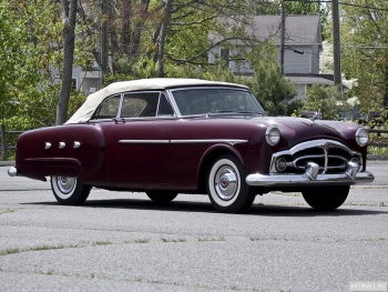 Packard 250 Convertible Coupe (2531-2579) '1952,