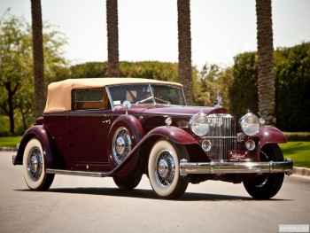 Packard 904 Individual Custom Convertible Victoria by Dietrich (2072) '1932,