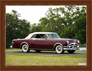 Магнитная картина Packard Caribbean Convertible Coupe (2631-2678) '1953,