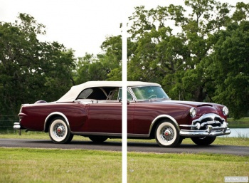 Модульное панно Packard Caribbean Convertible Coupe (2631-2678) '1953,