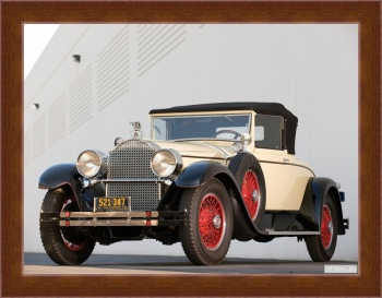 Магнитная картина Packard Custom Eight Convertible Coupe by Dietrich '1928,