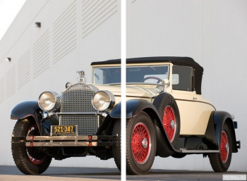 Модульное панно Packard Custom Eight Convertible Coupe by Dietrich '1928,