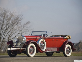 Packard Deluxe Eight Dual Cowl Phaeton (645) '1929,