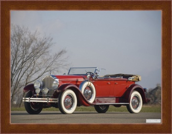Магнитная картина Packard Deluxe Eight Dual Cowl Phaeton (645) '1929,