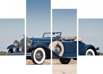 Модульное панно Packard Deluxe Eight Roadster '1930-31,