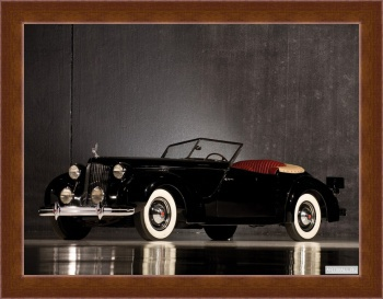 Магнитная картина Packard Eight Convertible Victoria by Darrin '1938,