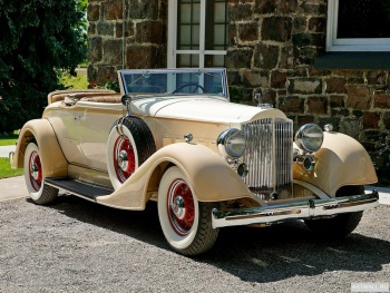 Packard Eight Coupe Roadster (1101) '1934,