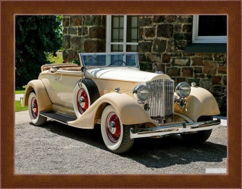 Магнитная картина Packard Eight Coupe Roadster (1101) '1934,