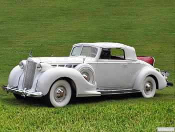 Packard Super Eight Convertible Coupe '1938,