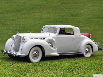 Packard, Packard Super Eight Convertible Coupe '1938