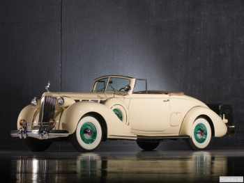 Packard Super Eight Convertible Victoria '1934,