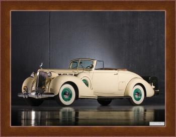 Магнитная картина Packard Super Eight Convertible Victoria '1934,
