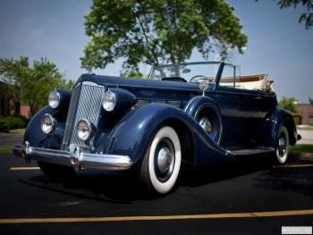 Packard Super Eight Coupe Roadster '1934,