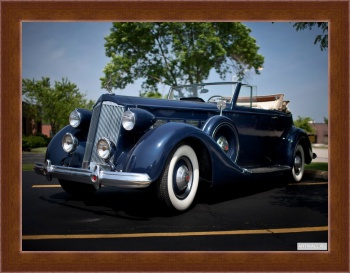 Магнитная картина Packard Super Eight Coupe Roadster '1934,