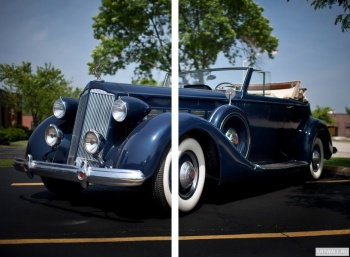 Модульное панно Packard Super Eight Coupe Roadster '1934,