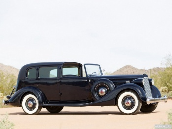 Packard Twelve All-Weather Town Car by LeBaron (1408) '1936,