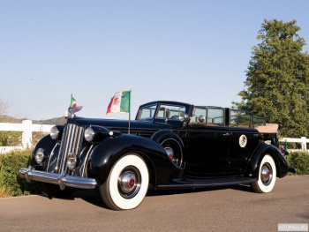 Packard Twelve Armored Convertible Sedan by Dietrich '1939,