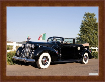 Магнитная картина Packard Twelve Armored Convertible Sedan by Dietrich '1939,