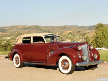 Packard Twelve Collapsible Touring Cabriolet by Brunn '1938,
