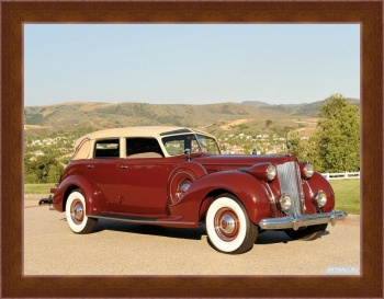 Магнитная картина Packard Twelve Collapsible Touring Cabriolet by Brunn '1938,