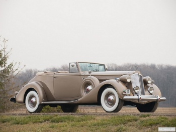 Packard Twelve Convertible Victoria '1937,