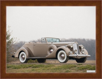 Магнитная картина Packard Twelve Convertible Victoria '1937,
