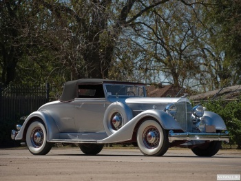 Packard Twelve Coupe Roadster '1934,