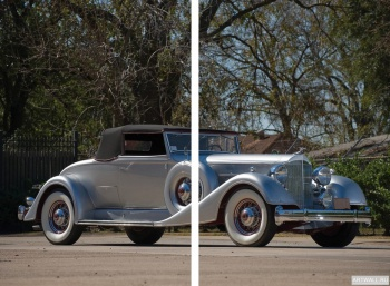 Модульное панно Packard Twelve Coupe Roadster '1934,