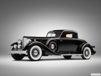Packard Twelve Custom Coupe by Dietrich (1007) '1933,