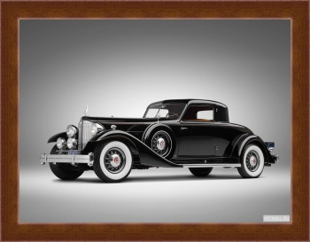 Магнитная картина Packard Twelve Custom Coupe by Dietrich (1007) '1933,