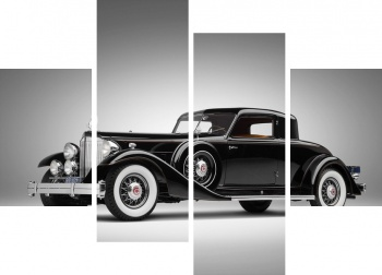 Модульное панно Packard Twelve Custom Coupe by Dietrich (1007) '1933,