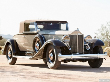 Packard Twelve Roadster (1005) '1933,