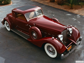 Packard Twelve Sport Coupe by Dietrich '1933,