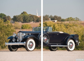 Модульное панно Packard Twin Six Coupe Roadster '1932,